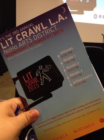 Lit Crawl '15